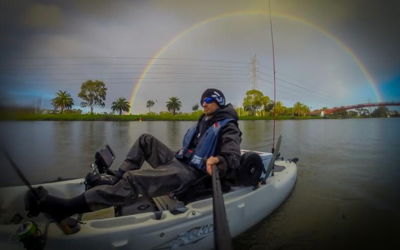 hobie outback kayak rainbow