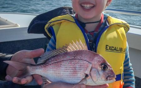snapper kids fishing